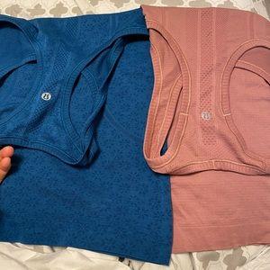 2 lululemon shirts